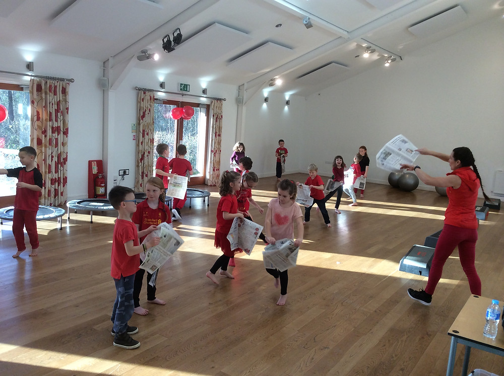 Fitness classes Kendal for adults and children