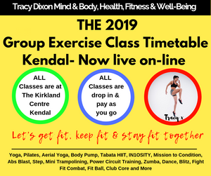 Pilates, Yoga, Fitness Classes in Kendal