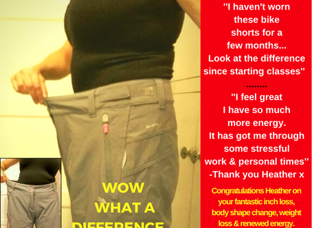 Heather's Total Body Shape Change Shocker...