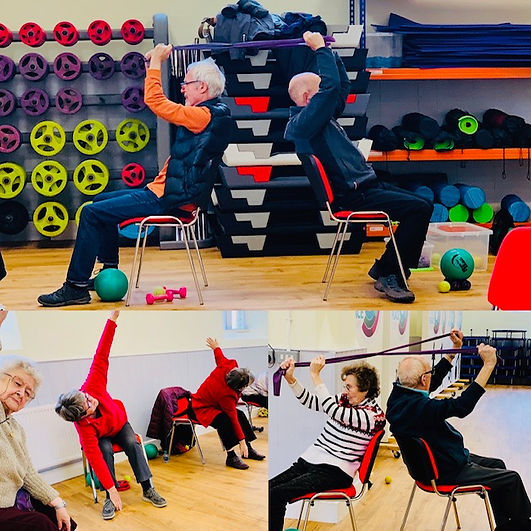 Chair Based Exercise yog and pilates cla