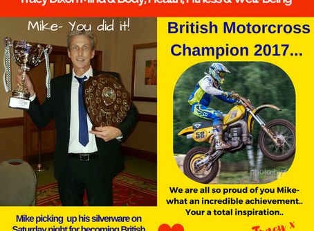 Mike's British Motorcross Champion 2017- He did it!
