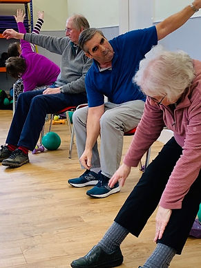 chair based exercise classes kendal at T