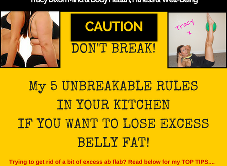 Lose excess belly fat