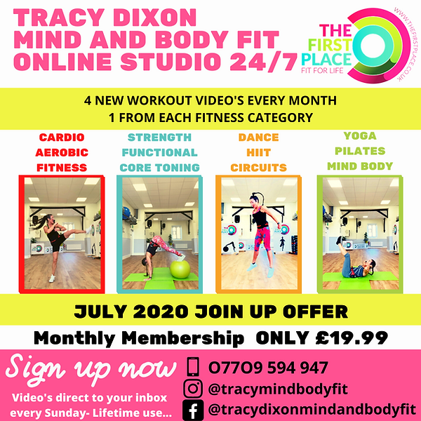 Tracy Dixon Mind and Body Fit Tricep Ton