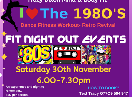 I LOVE THE 8O's- NEW FIT NIGHT OUT