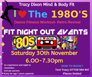 Tracy Dixon Fitness Classes Kendal Fit Night Out