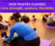 Pilates Fitness Classes with Tracy Dixon