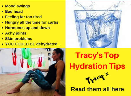 Tracy's Top Hydration Tips for Health and Fat loss
