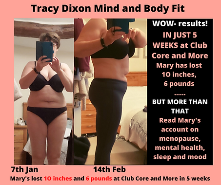 Tracy Dixon Fitness classes for mind and
