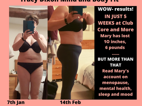 Mary- manages weight, fat loss, menopause, depression and sleep with Lifestyle Club Core and More...