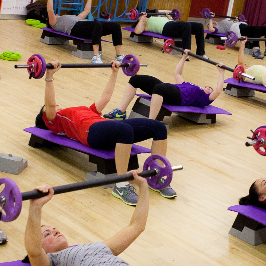 Tracy Dixon Teaches Body Pump Weights and HIIT Classes Kendal