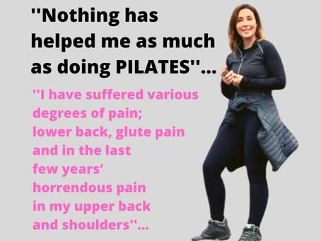 Vicki's long battle with back pain…finally gone