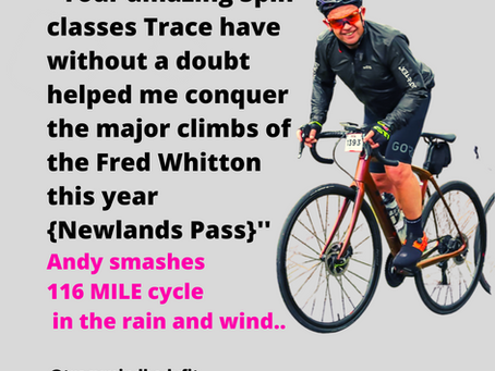 ⭐ FAT LOSS | FITNESS | SPIN + STRENGTH 🚴♂️🏋️♂️Andy conquers the 116 mile Fred Whitton cycle..