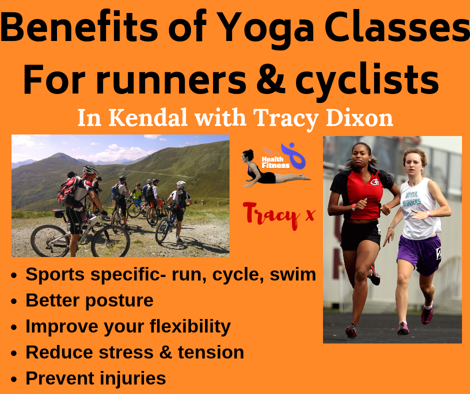 Yoga classes Kendal at The Kirkland Centre for runners and cyclists