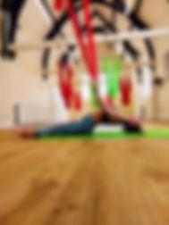 Tracy Dixon Aerial Yoga Classes Kendal a