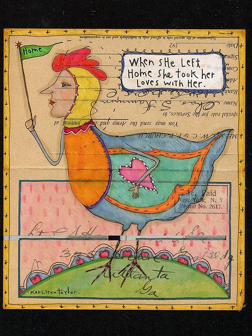 Mother Hen Envelope