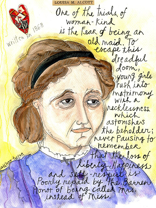 Louisa May Alcott - Women Authors Series