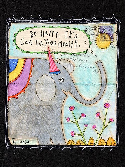 Be Happy Envelope