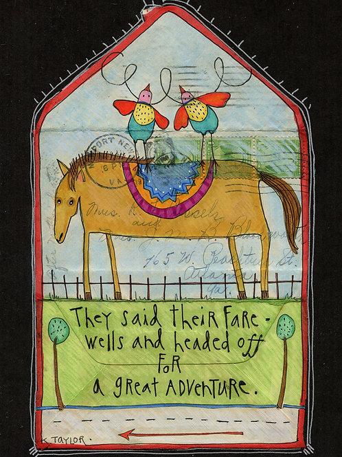 Great Adventure Envelope