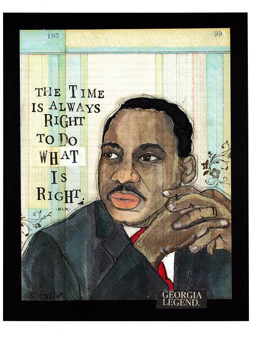 MLK Print