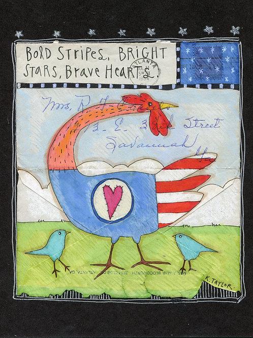 Stars and Stripes Envelope