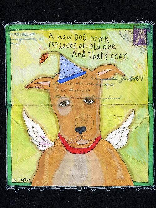 Old Dog Love Envelope