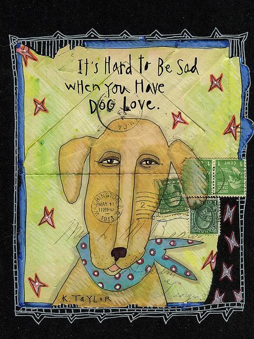 Dog Love Envelope