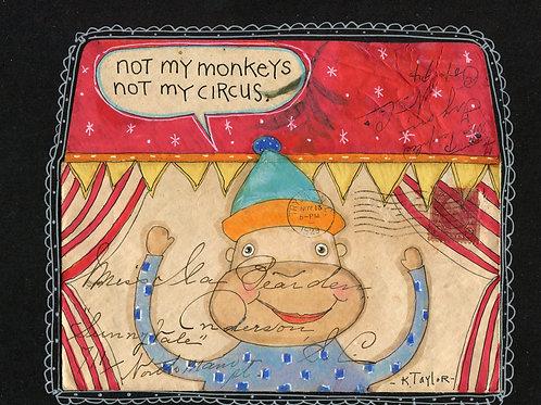Not My Monkeys Envelope