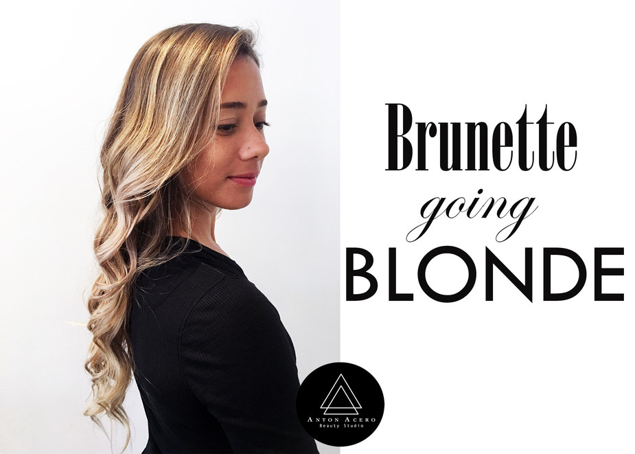 Brunette going blonde- The expert tips to do it the right way