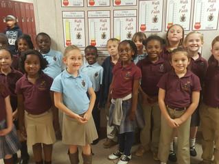 Congratulations to Mrs. Pepper's 2nd Grade Class
