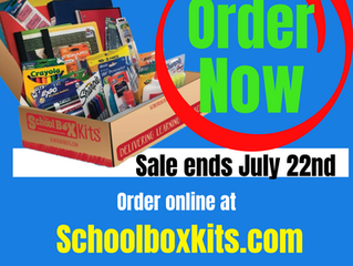 GCA School Supply List Available At schoolboxkits.com