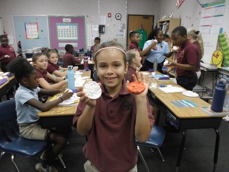 5th Graders & Fossils & Dinosaurs Oh My!