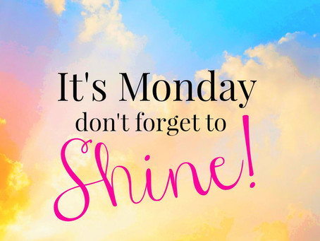 How To Make Monday's A Fresh Start!