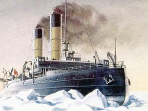 """Как уничтожили легендарный ледокол """"Ермак""""?"""