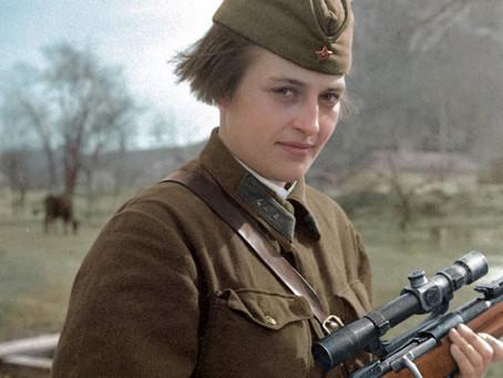«Леди Смерть»: почему американцы так прозвали советскую женщину?