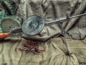 Пулемет Дегтярева: 90 лет в строю
