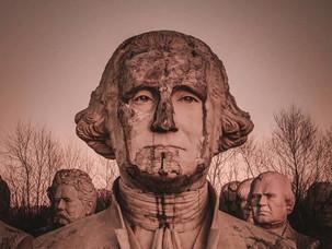 Заброшенные статуи президентов: красиво и страшно одновременно