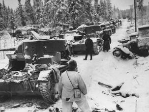 Начало войны с Финляндией. Катастрофа на Раатской дороге