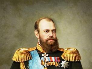 За что императора Александра III посадили в клетку?