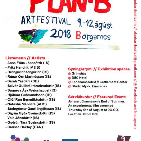 Artists of Plan-B Art Festival 2018