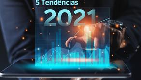 5 tendências de tecnologia que ganharam força em 2021