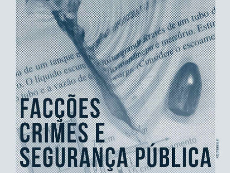 Facções, crimes e segurança pública: VI Seminário Internacional Violência e Conflitos Sociais (UFC)
