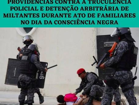 Agenda Nacional pelo Desencarceramento cobra posicionamento sobre agressão a manifestantes no Ceará