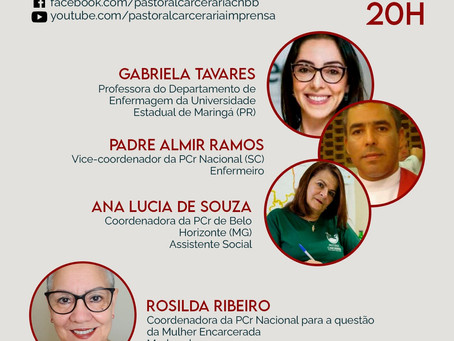 Nesta sexta (15) participe do lançamento do vídeo 'Saúde no Cárcere: Instrumento de Tortura II'