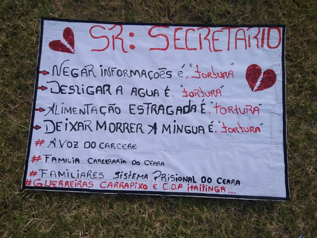 Protesto pacífico é impedido em frente à SAP; manifestantes migram para Praia de Iracema