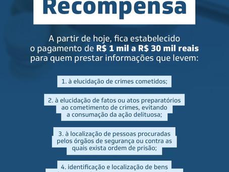 Programa Estadual de Recompensa do Ceará é positivo, mas 'obsoleto' diante contexto vulnerável