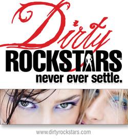 Dirty Rockstars web ad