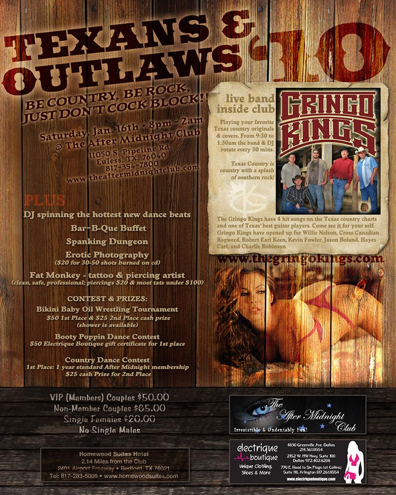 Texans & Outlaws 2010