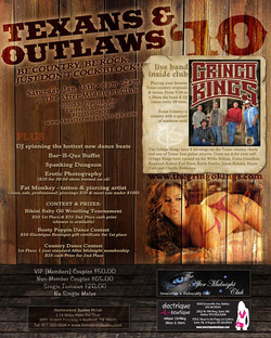 Texans & Outlaws 2010