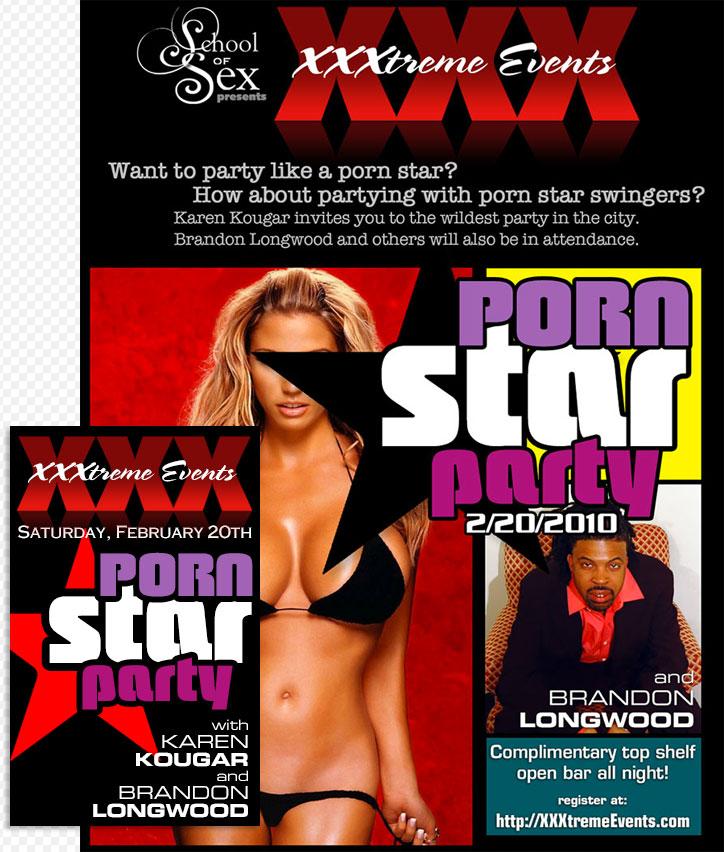 XXX: Porn Star Party